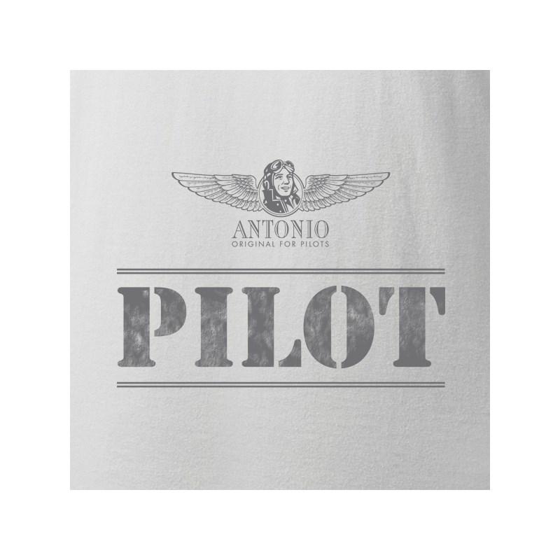 Triko PILOT BÍLÉ ANTONIO® 01101000 L-11