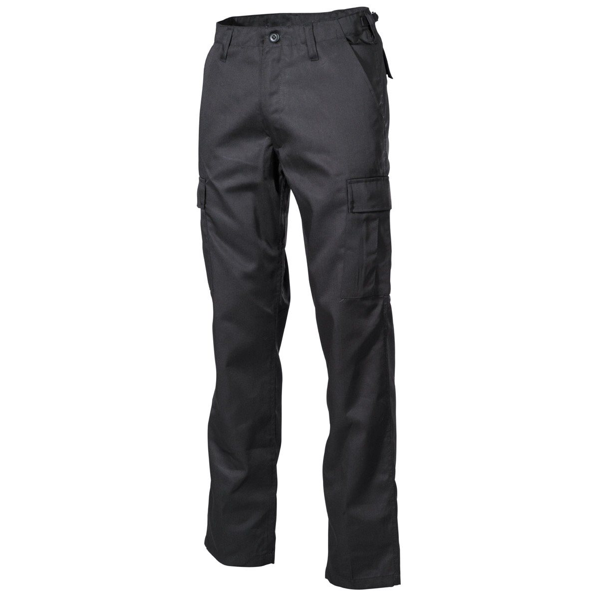 MFH int. comp. | Kalhoty US střih BDU ČERNÉ vel.XL
