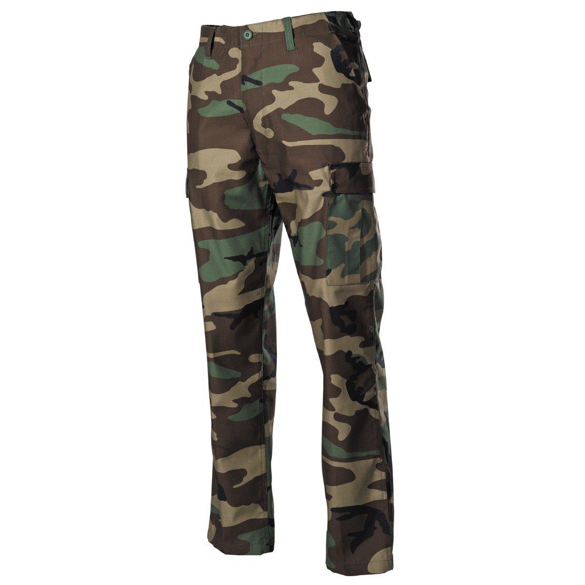 MFH int. comp. | Kalhoty US střih BDU WOODLAND vel.XL