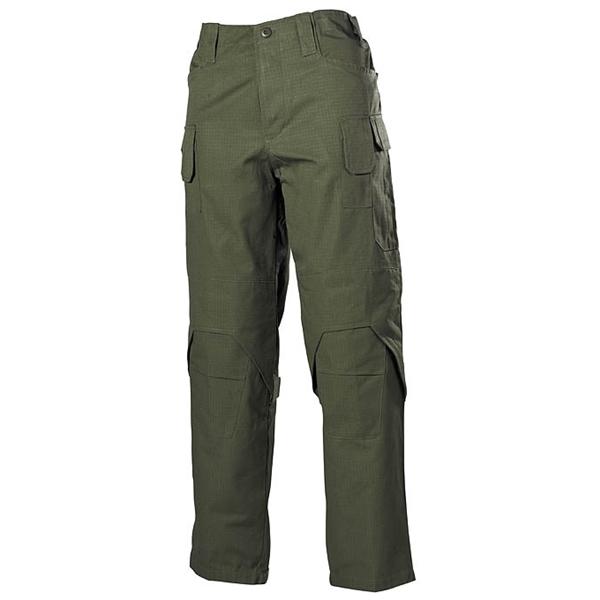 MFH int. comp. | Kalhoty MISSION ZELENÉ vel.XL