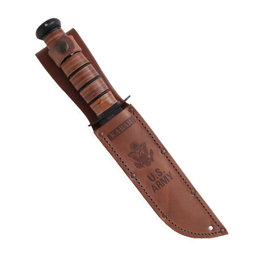 Nůž U.S.ARMY ozubené ostří ČERNÝ KA-BAR 02-1219 L-11