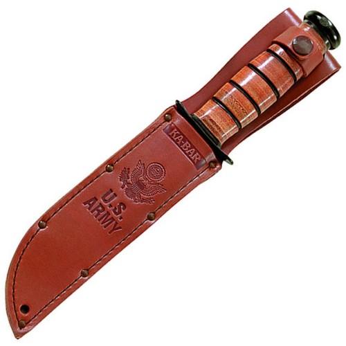 Nůž U.S.ARMY hladké ostří ČERNÝ KA-BAR 02-1220 L-11
