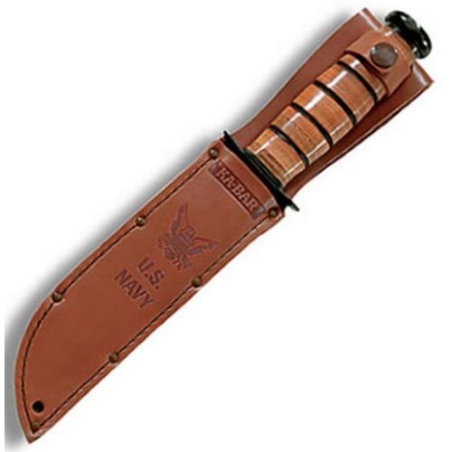 Nůž U.S.NAVY hladké ostří ČERNÝ KA-BAR 02-1225 L-11