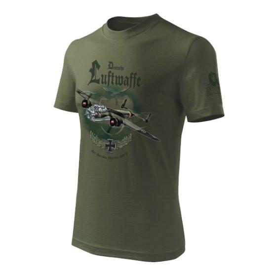Triko s bombardérem DORNIER Do 17 ANTONIO® 02132009 L-11
