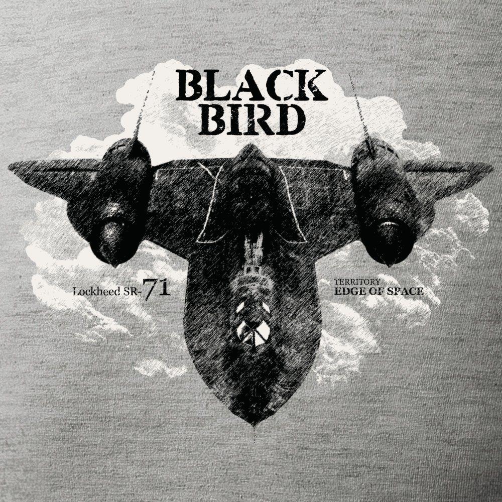 Triko Lockheed SR-71 BLACKBIRD ŠEDÉ ANTONIO® 0214511 L-11