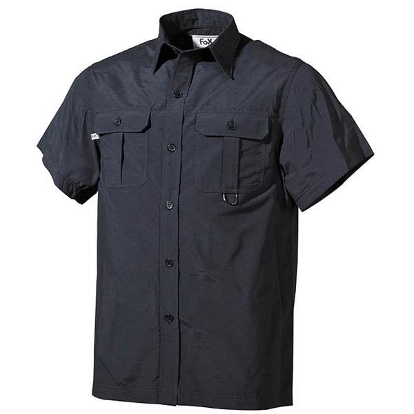 Košile OUTDOOR krátký rukáv ČERNÁ FOX Outdoor 02303A L-11