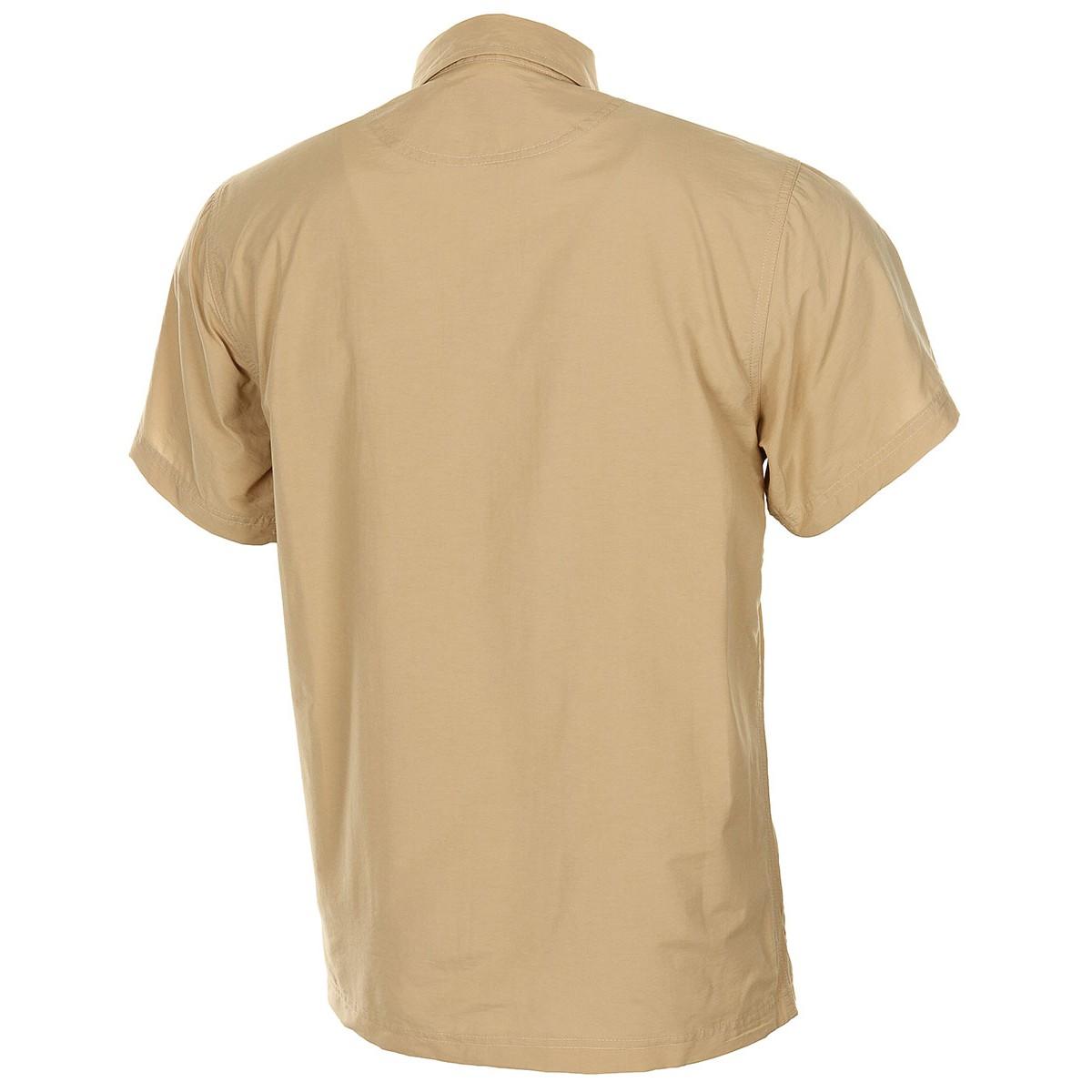 Košile OUTDOOR krátký rukáv PÍSKOVÁ FOX Outdoor 02303F L-11