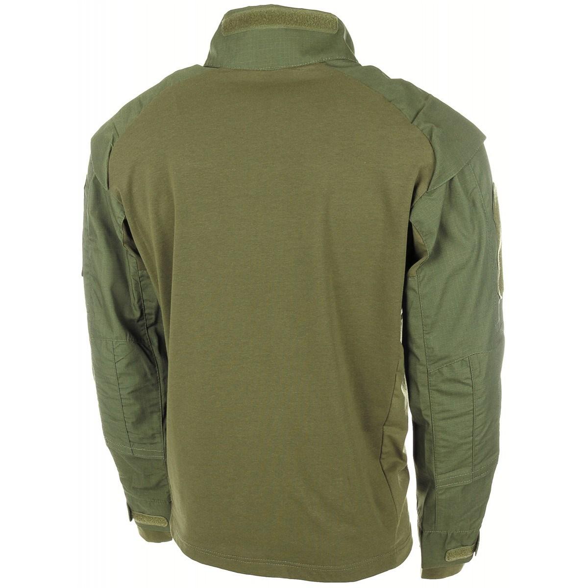 Košile taktická UBACS ZELENÁ MFH Defence 02611B L-11