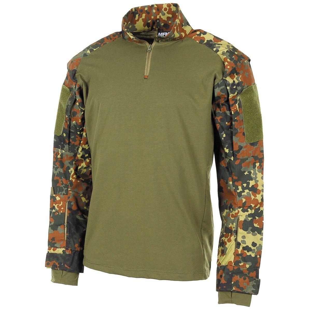 Košile taktická UBACS FLECKTARN MFH Defence 02611V L-11