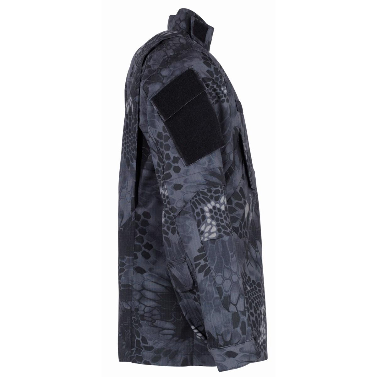 Blůza MISSION NY/CO SNAKE BLACK MFH Defence 03360N L-11