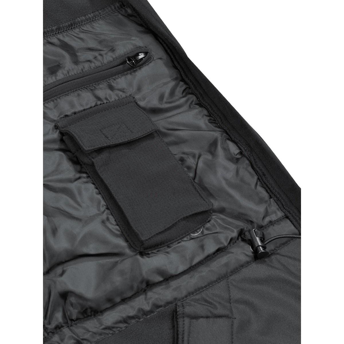 Bunda softshell HIGH DEFENCE ČERNÁ MFH Defence 03411A L-11