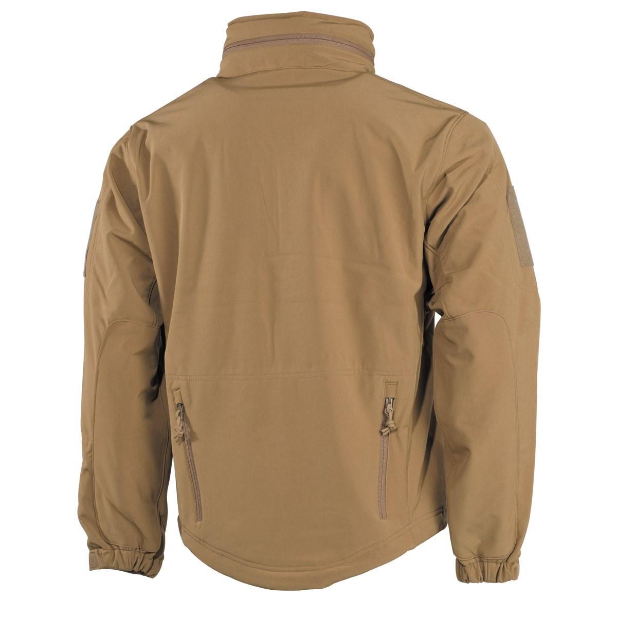 Bunda SCORPION softshellová COYOTE MFH Defence 03415R L-11