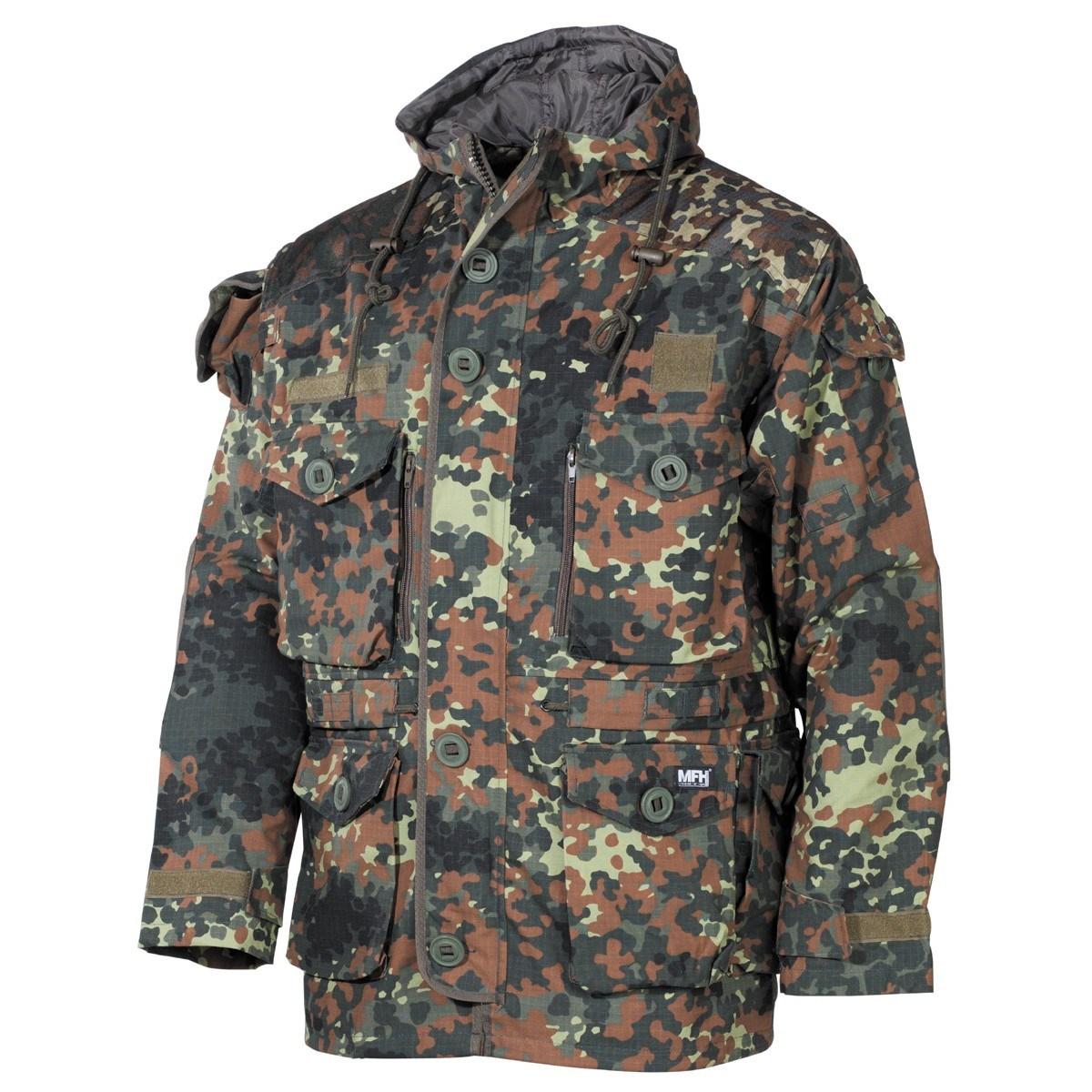Bunda COMMANDO SMOCK FLECKTARN MFH Defence 03482V L-11
