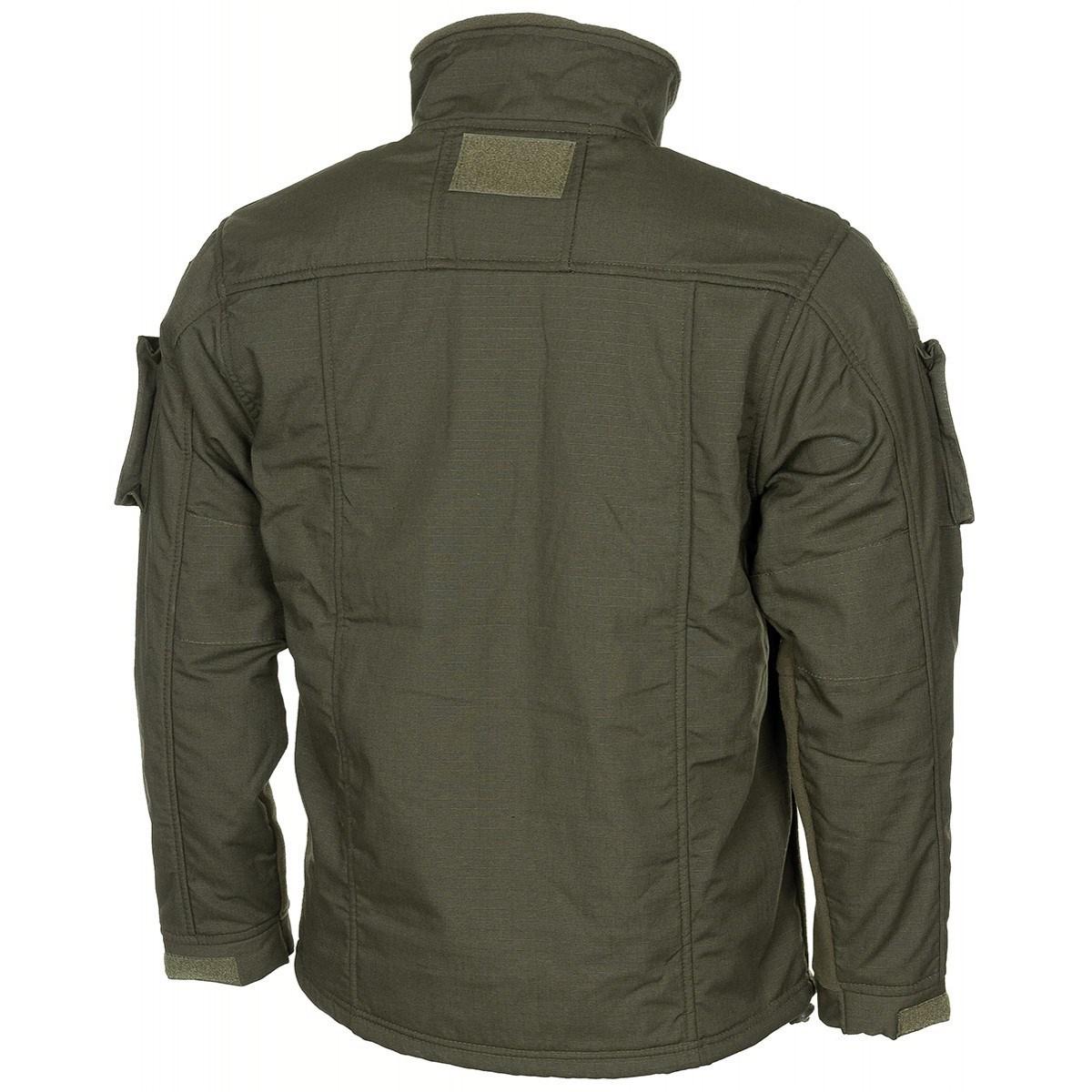 Bunda taktická fleece COMBAT ZELENÁ MFH Defence 03811B L-11