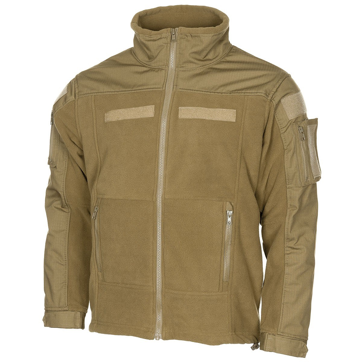 Bunda taktická fleece COMBAT COYOTE MFH Defence 03811R L-11
