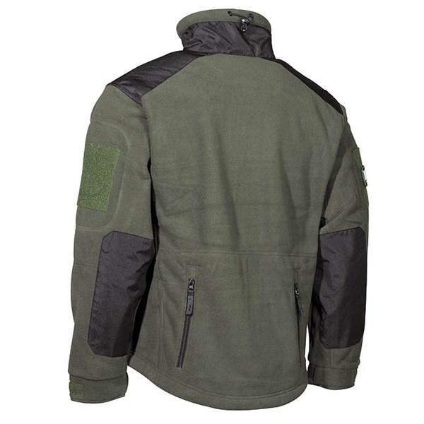 Bunda fleece Heavy-Strike ZELENÁ MFH Defence 03841B L-11