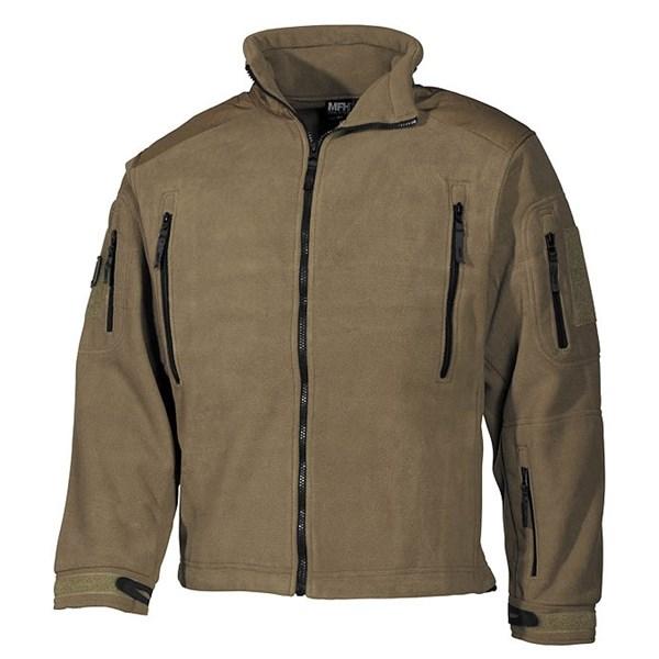 Bunda fleece Heavy-Strike COYOTE MFH Defence 03841R L-11