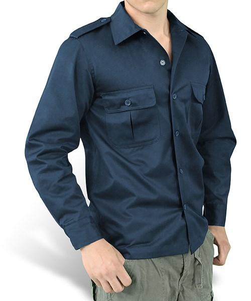 Košile US HEMD s dlouhým rukávem NAVY SURPLUS 06-3584-10 L-11