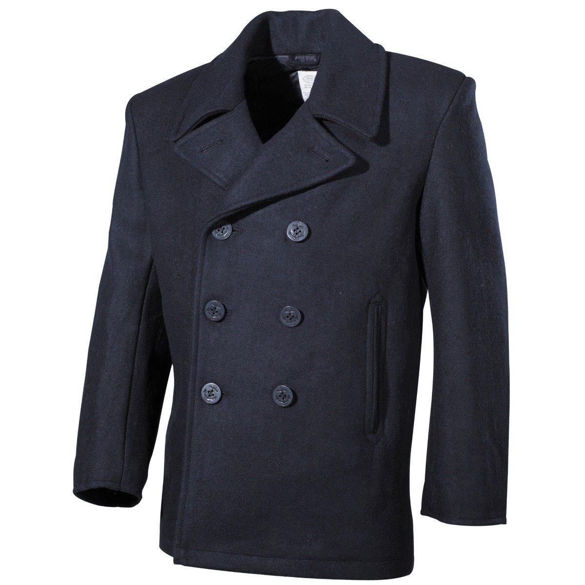Kabát US  Pea Coat MODRÝ MFH int. comp. 09015G L-11