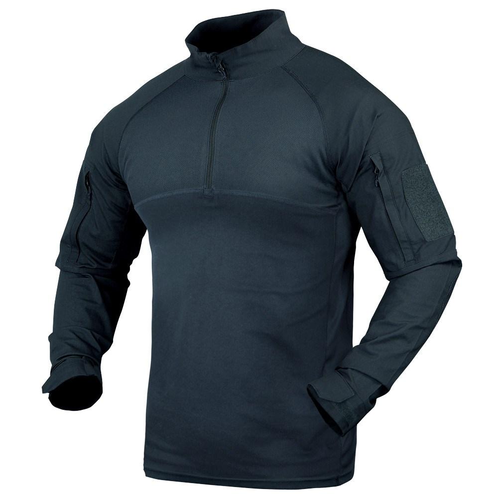 Košile taktická COMBAT se zipem MODRÁ CONDOR OUTDOOR 101065-006 L-11