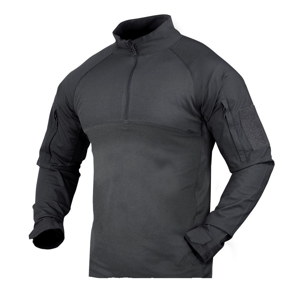 Košile taktická COMBAT se zipem GRAPHITE CONDOR OUTDOOR 101065-018 L-11