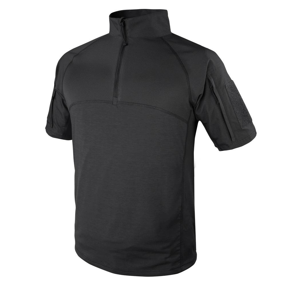 Košile taktická COMBAT krátký rukáv ČERNÁ CONDOR OUTDOOR 101144-002 L-11