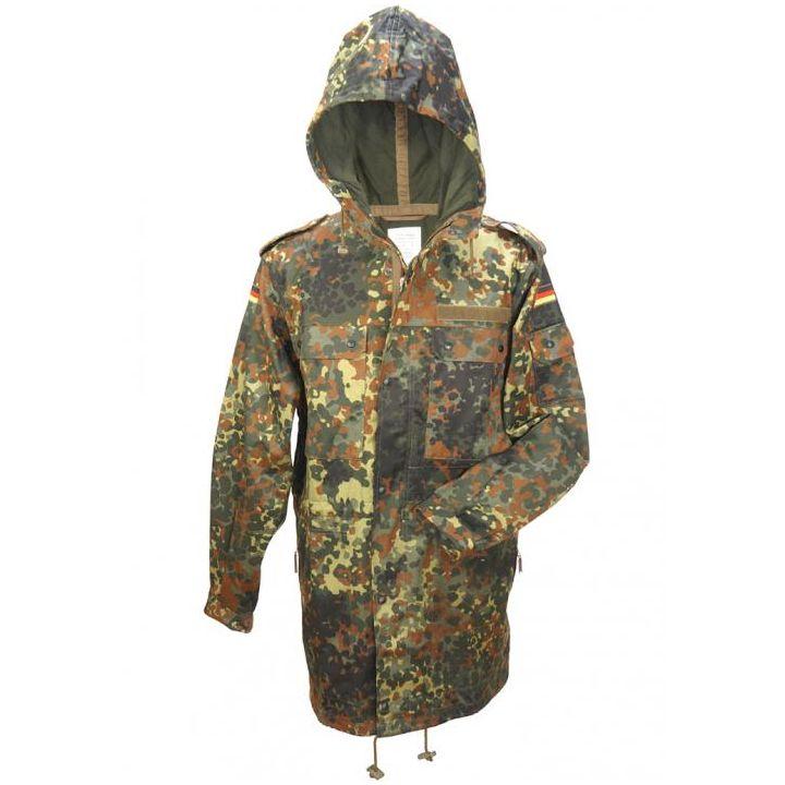 Bunda BW s kapucí a bez vložky FLECKTARN Bundeswehr 10105021 L-11
