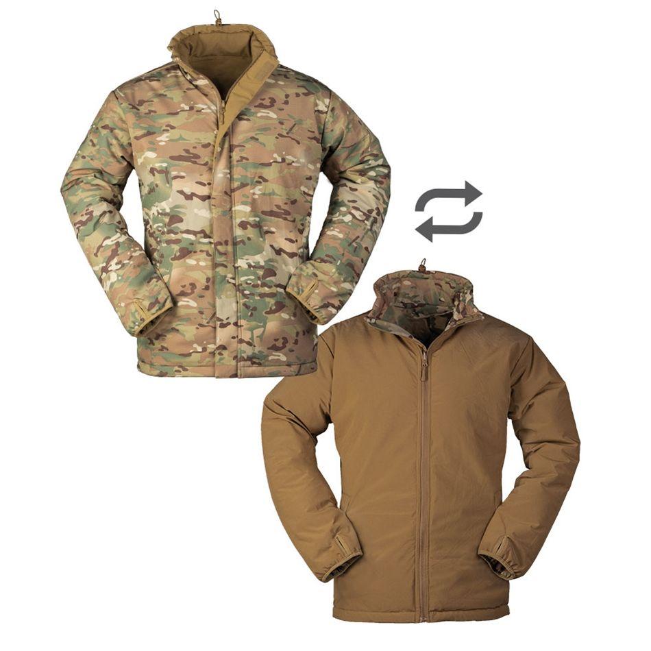 Bunda COLD WEATHER oboustranná MULTITARN/COYOTE MIL-TEC® 10331549 L-11