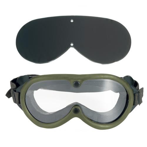 ROTHCO Brýle taktické US M44 2 skla v krabičce ZELENÉ