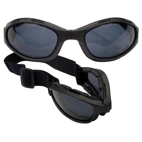 ROTHCO Brýle taktické skládací ČERNÉ