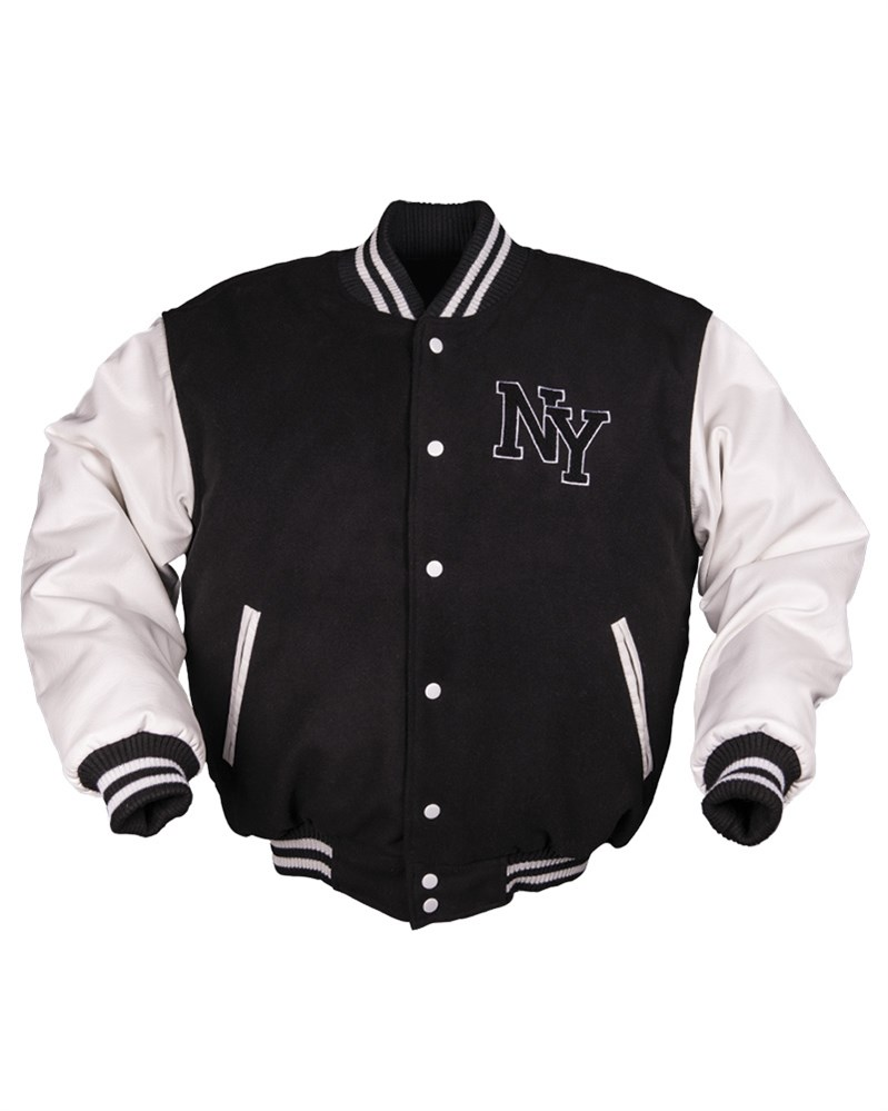 Bunda NY baseball ČERNO/BÍLÁ MIL-TEC® 10370002 L-11