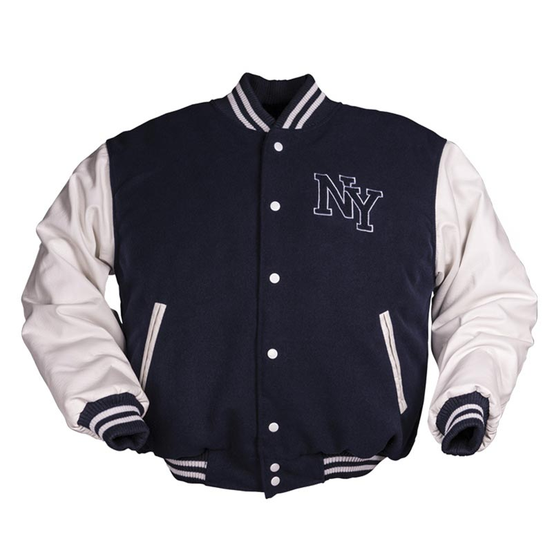 Bunda NY baseball MODRO/BÍLÁ MIL-TEC® 10370003 L-11