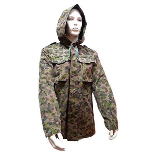 Bunda RAKOUSKÁ s kapucí K4 tarn AUSTRIA CAMO použitá Armáda Rakouská 910398-G L-11