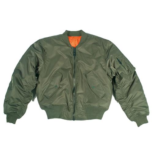 Bunda US MA1 TEESAR® bomber ZELENÁ TEESAR® 10401001 L-11