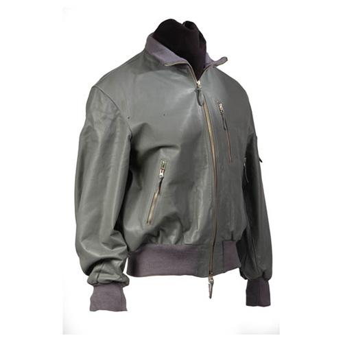 Bunda kožená BW AVIATOR ŠEDÁ MIL-TEC® 10461008 L-11