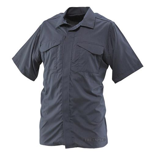 Košile 24-7 UNIFORM krátký rukáv rip-stop MODRÁ TRU-SPEC 24-7 10470 L-11
