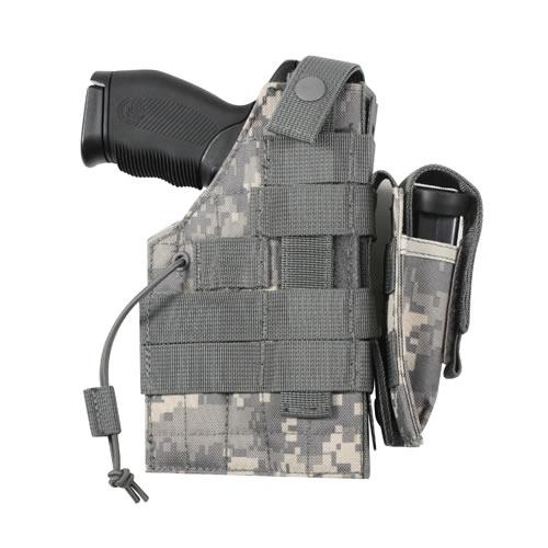 ROTHCO Pouzdro pistolové oboustranné MOLLE ACU DIGITAL