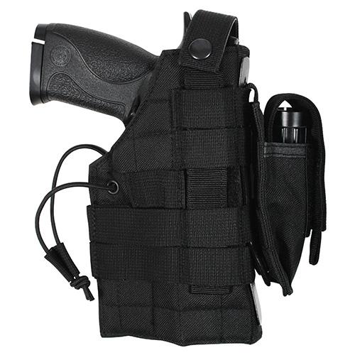 ROTHCO Pouzdro pistolové oboustranné MOLLE ČERNÉ