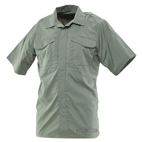 Košile 24-7 UNIFORM krátký rukáv rip-stop ZELENÁ TRU-SPEC 24-7 10480 L-11