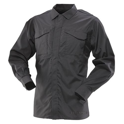 Košile 24-7 UNIFORM dlouhý rukáv rip-stop ČERNÁ TRU-SPEC 24-7 10510 L-11