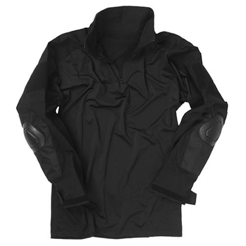 Košile taktická WARRIOR ČERNÁ MIL-TEC® 10513102 L-11