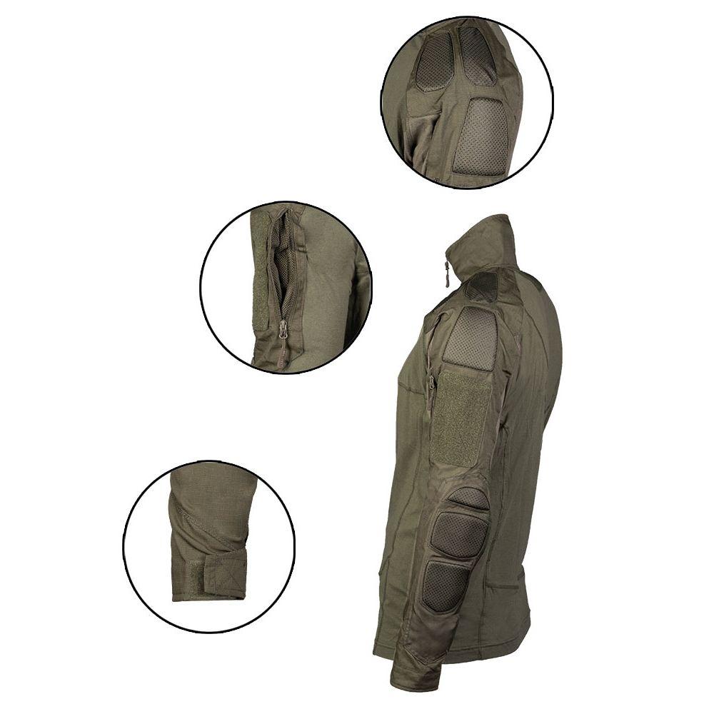 Košile taktická CHIMERA ZELENÁ MIL-TEC® 10516301 L-11