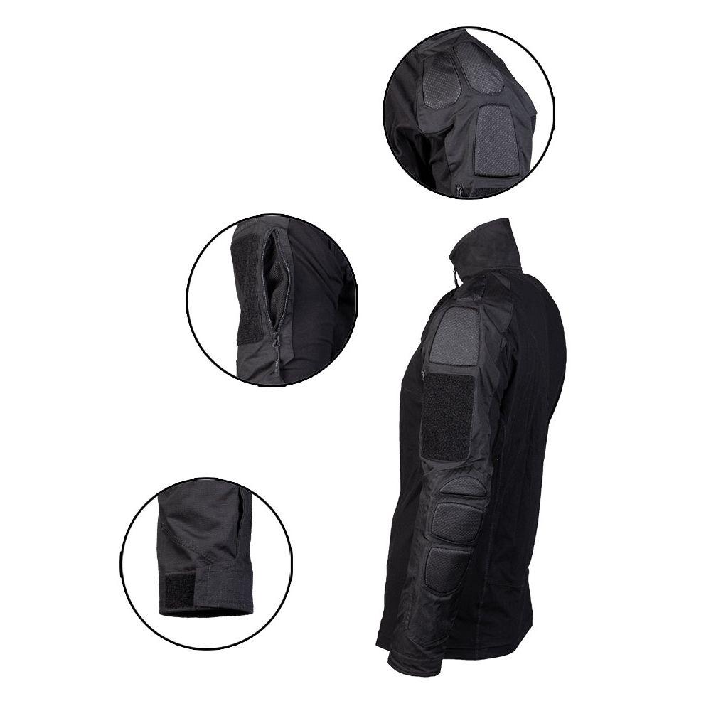 Košile taktická CHIMERA ČERNÁ MIL-TEC® 10516602 L-11