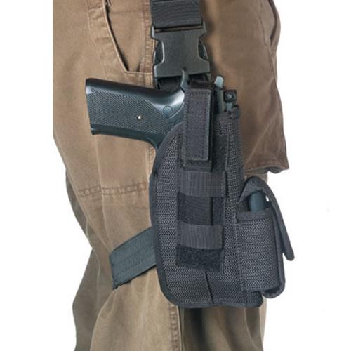 ROTHCO Pouzdro pistolové stehenní Beretta 92 ČERNÉ