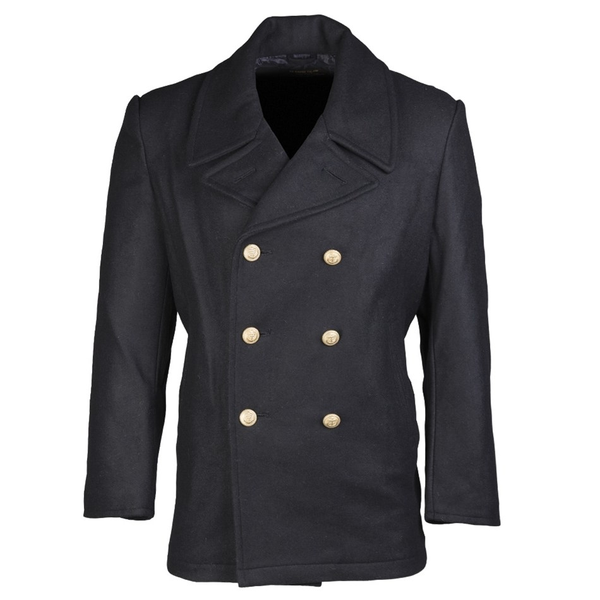 Kabát BW MARINE vlněný  NAVY MIL-TEC® 10578000 L-11
