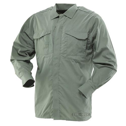 Košile 24-7 UNIFORM dlouhý rukáv rip-stop ZELENÁ TRU-SPEC 24-7 10590 L-11