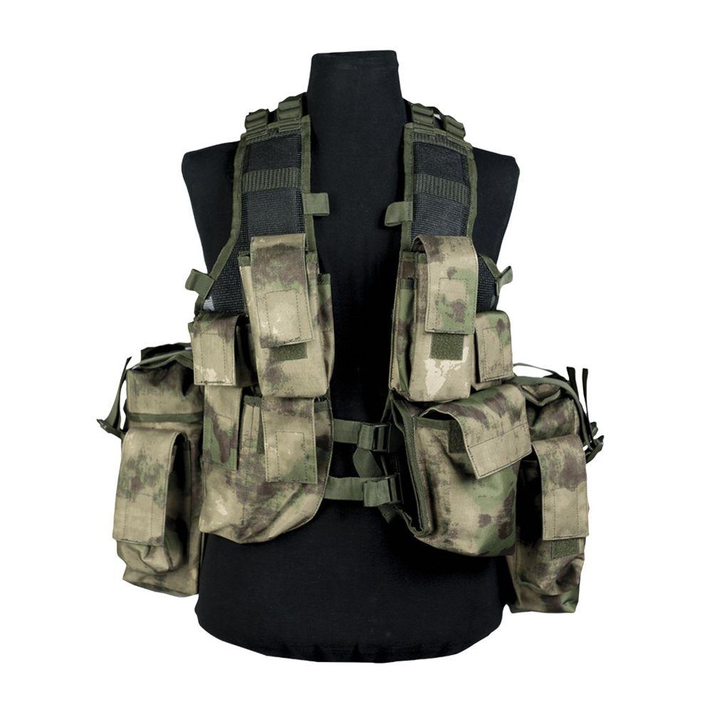 MIL-TEC® Vesta taktická 12 kapes MIL-TACS FG