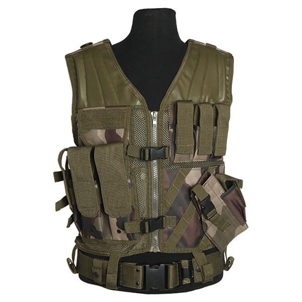 MIL-TEC® Vesta taktická CROSSDRAW USMC CCE