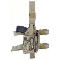 ROTHCO Pouzdro pistolové stehenní UNI DELUXE MULTICAM