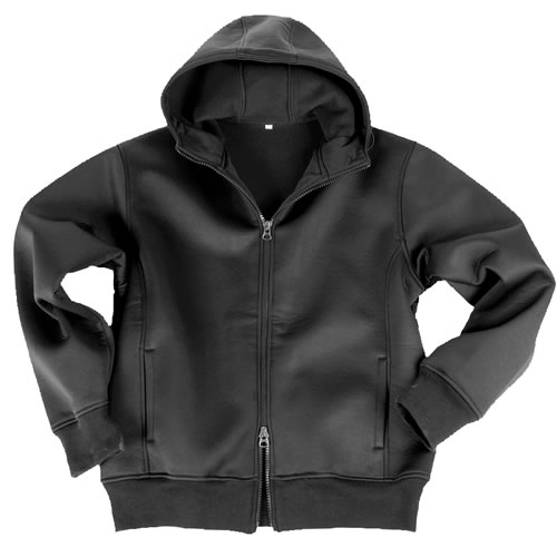 Bunda NEOPREN s fleece podšívkou ČERNÁ MIL-TEC® 10860002 L-11